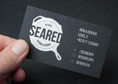 Seared Steaks & Chops Identity