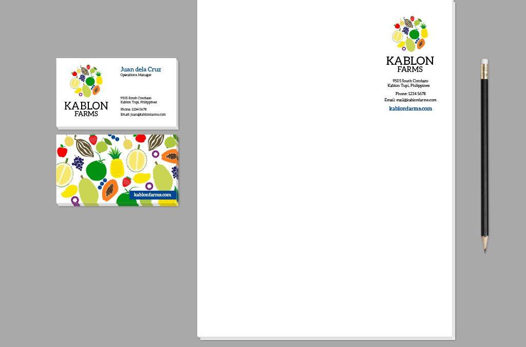 Kablon Farms Branding