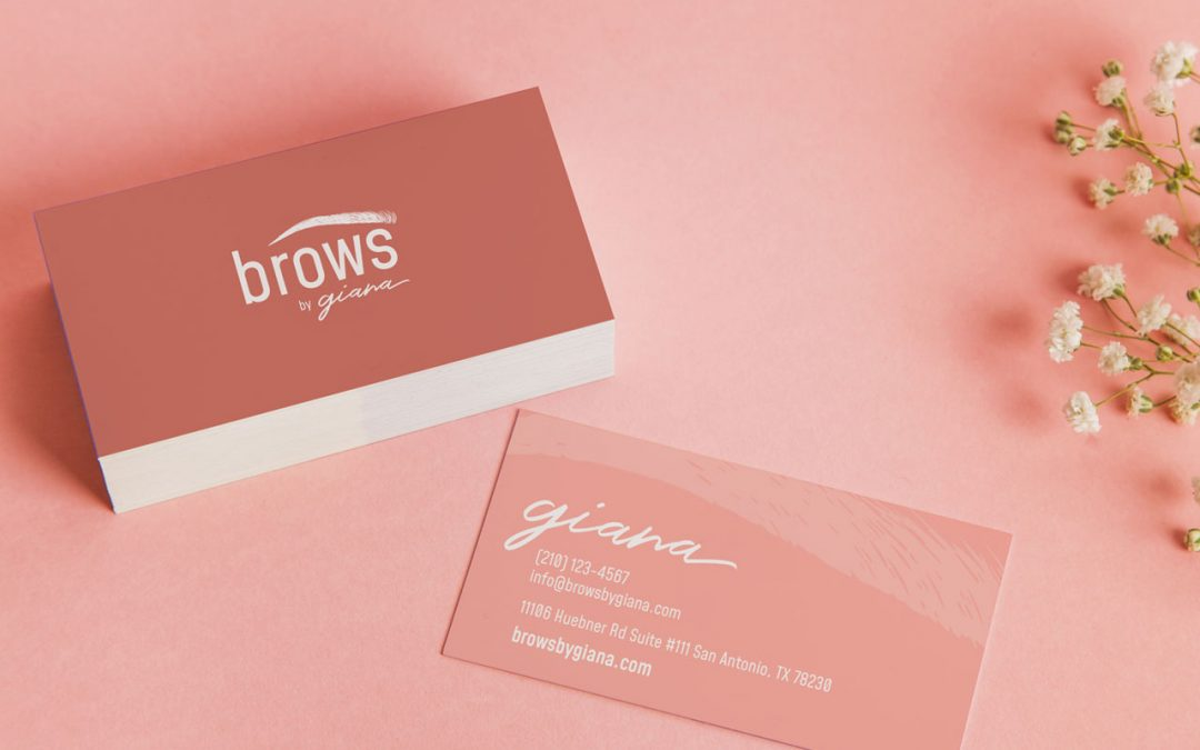 Brows by Giana Identity Design