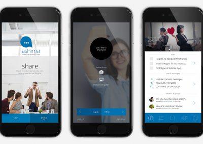 Ashima Mobile App UI/UX